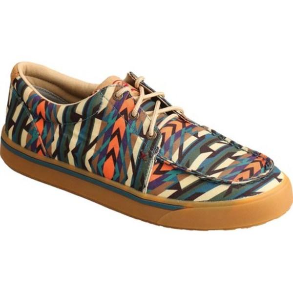ツイステッド エックス メンズ ブーツ&レインブーツ シューズ MHYC019 Hooey Loper Moc Toe Sneaker Multi Fabric