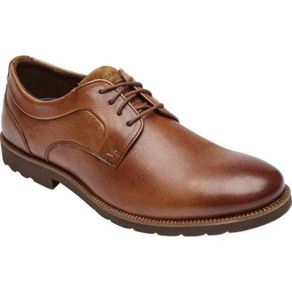 ロックポート メンズ ドレスシューズ シューズ Sharp & Ready 2 Plain Toe Oxford Caramel Leather
