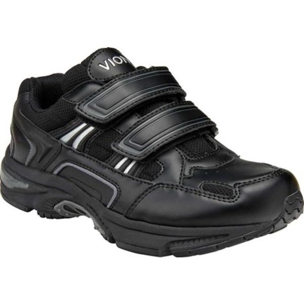 バイオニック レディース スニーカー シューズ Tabi Two Strap Sneaker Black Leather