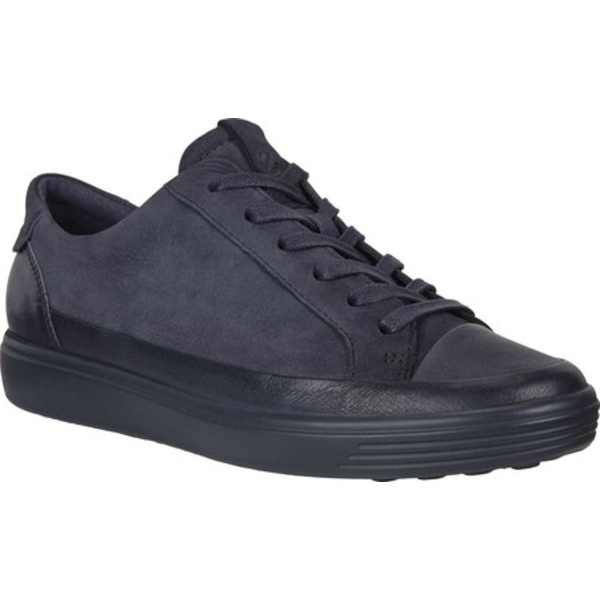 エコー レディース スニーカー シューズ Soft 7 Mono Sneaker Night Sky/Night Sky Full Grain Leather/Nubuck