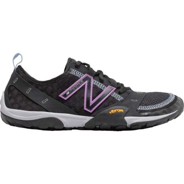 ニューバランス レディース スニーカー シューズ Minimus 10 Trail Black/Neo Violet