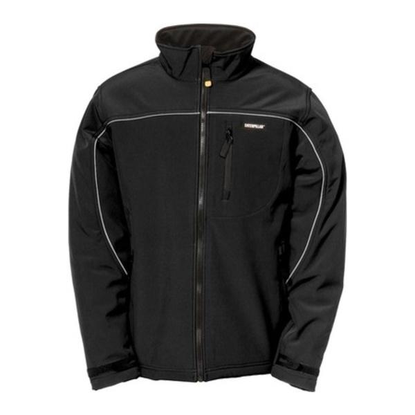 キャタピラー メンズ ジャケット&ブルゾン アウター Soft Shell Jacket Black