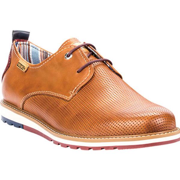 ピコリーノス メンズ ドレスシューズ シューズ Berna Oxford M8J-4273 Brandy Leather
