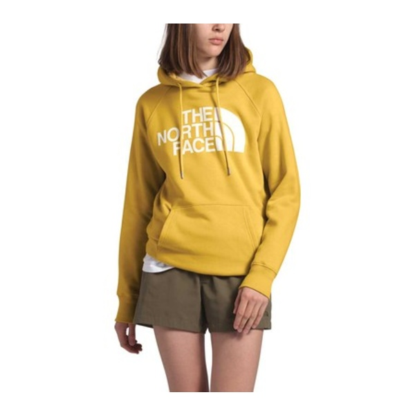 ノースフェイス レディース パーカー・スウェットシャツ アウター Half Dome Pullover Hoodie Bamboo Yellow