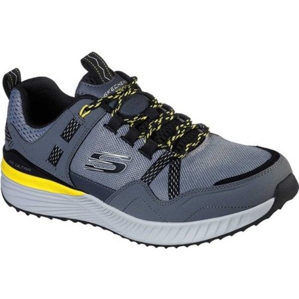 スケッチャーズ メンズ ブーツ&レインブーツ シューズ TR Ultra Walking Shoe Gray/Black