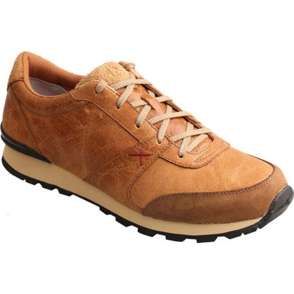 ツイステッド エックス メンズ スニーカー シューズ Western Athleisure Sneaker Tan Rough Out Leather