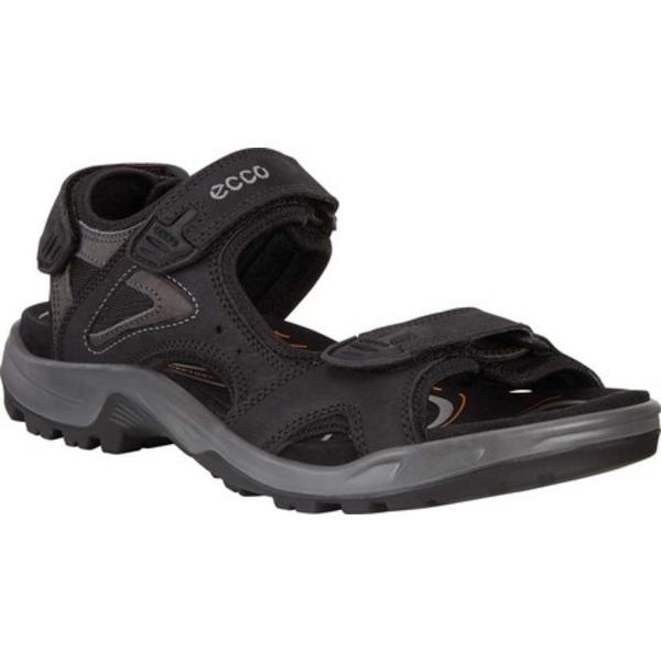 エコー メンズ スニーカー シューズ Offroad Lite II Walking Sandal Black/Dark Shadow Leather