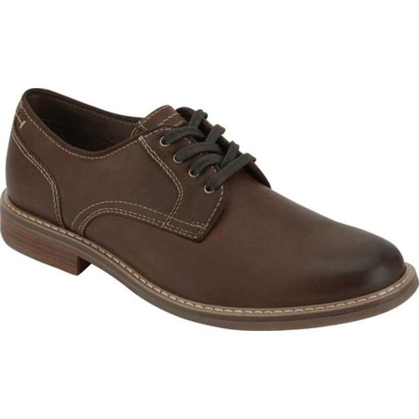 ドッカーズ メンズ ドレスシューズ シューズ Martin Plain Toe Oxford Dark Brown Full Grain Leather