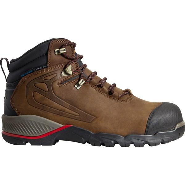 アリアト メンズ ブーツ&レインブーツ シューズ Ariat Men's Rebar Off-Road 6'' Waterproof Composite Toe Work Boots Barley
