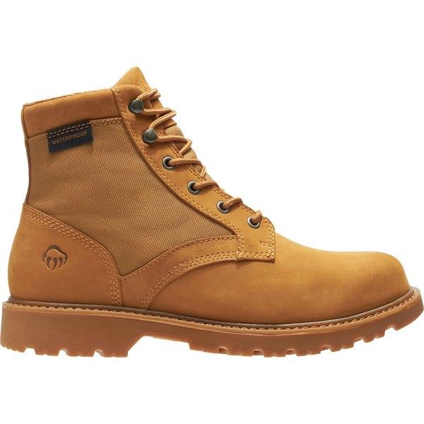 ウルヴァリン メンズ ブーツ&レインブーツ シューズ Wolverine Men's Field Boot Waterproof Hiking Boots Wheat