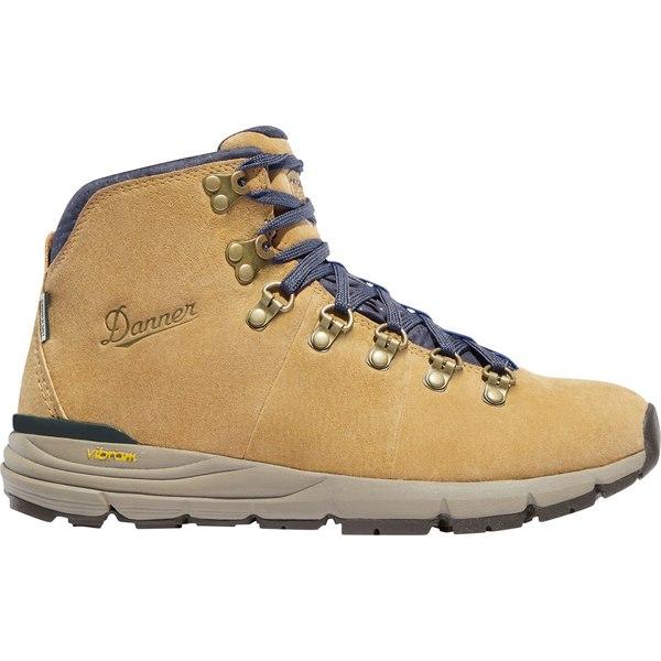 ダナー レディース ブーツ&レインブーツ シューズ Danner Women's Mountain 600 4.5'' Suede Waterproof Hiking Boots Sand
