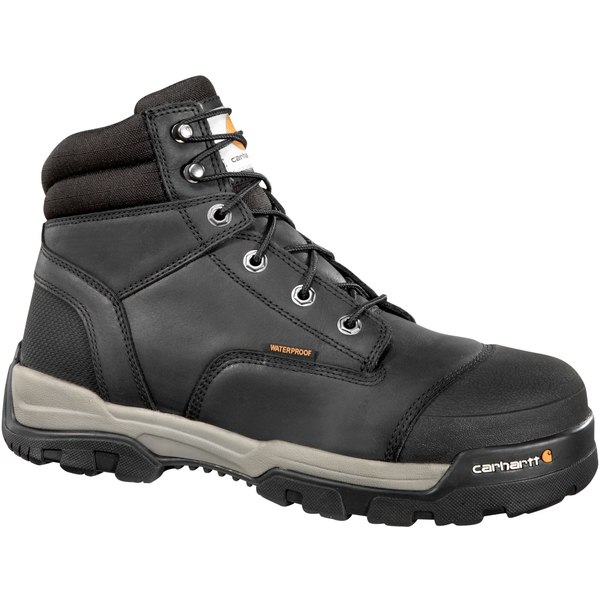 カーハート メンズ ブーツ&レインブーツ シューズ Carhartt Men's Ground Force 6'' Waterproof Composite Toe Work Boots Black