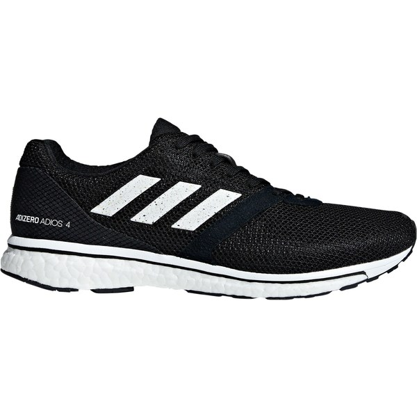 アディダス メンズ ランニング スポーツ adidas Men's adizero Adios 4 Running Shoes Black