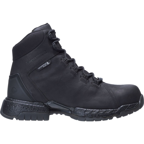 ウルヴァリン メンズ ブーツ&レインブーツ シューズ Wolverine Men's I-90 Rush Waterproof Composite Toe Work Boots Black
