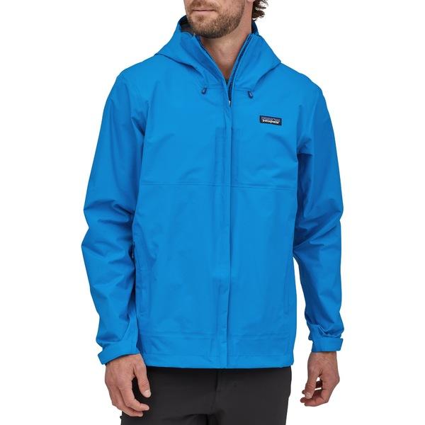 パタゴニア メンズ ジャケット&ブルゾン アウター Patagonia Men's Torrentshell 3L Rain Jacket AndesBlue