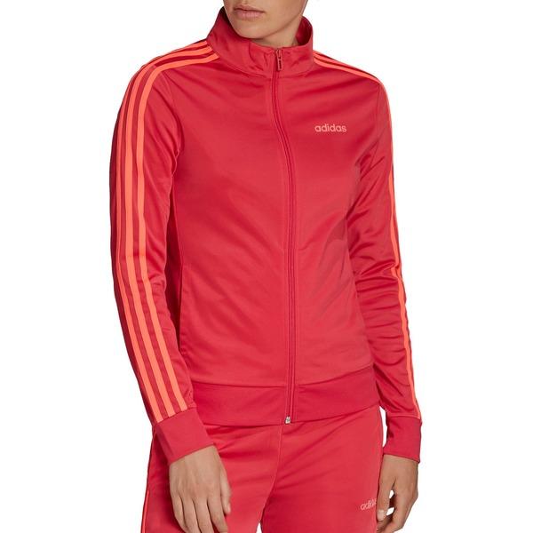 アディダス レディース ジャケット&ブルゾン アウター adidas Women's Essentials Tricot Track Jacket Pink