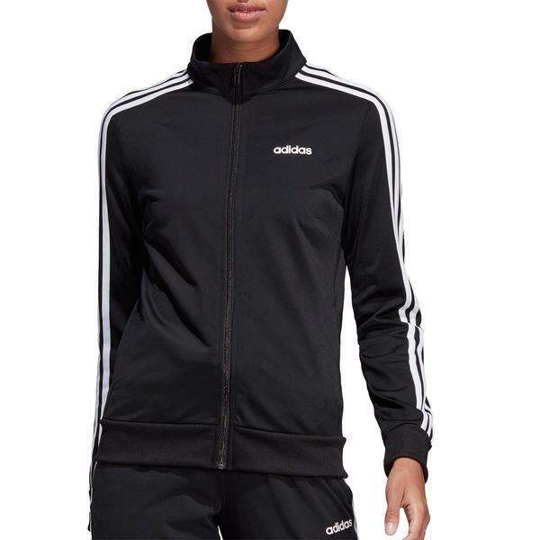 アディダス レディース ジャケット&ブルゾン アウター adidas Women's Essentials Tricot Track Jacket Black/White