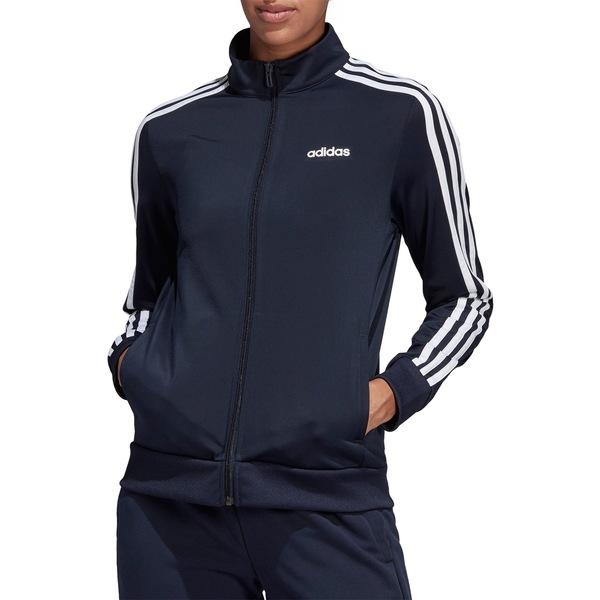 アディダス レディース ジャケット&ブルゾン アウター adidas Women's Essentials Tricot Track Jacket LegendInk/White