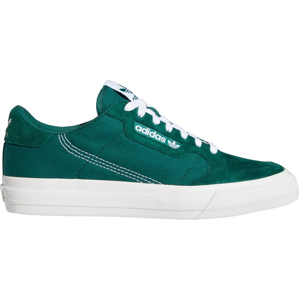 アディダス メンズ スニーカー シューズ adidas Men's Continental Vulcanized Shoes Green/Green/White