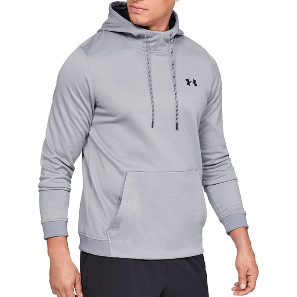 アンダーアーマー メンズ パーカー・スウェットシャツ アウター Under Armour Men's Armour Fleece Hoodie (Regular and Big & Tall) SteelLightHeather