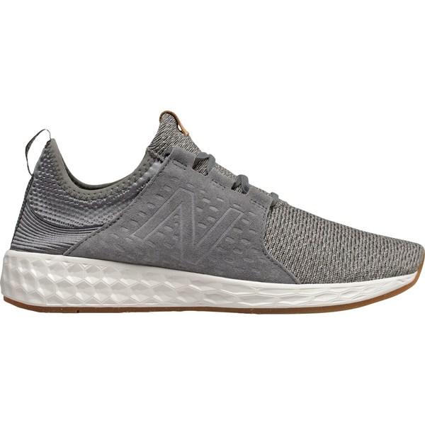ニューバランス メンズ スニーカー シューズ New Balance Men's Fresh Foam Cruzv1 Reissue Shoes Grey