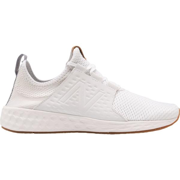 ニューバランス メンズ スニーカー シューズ New Balance Men's Fresh Foam Cruzv1 Reissue Shoes White