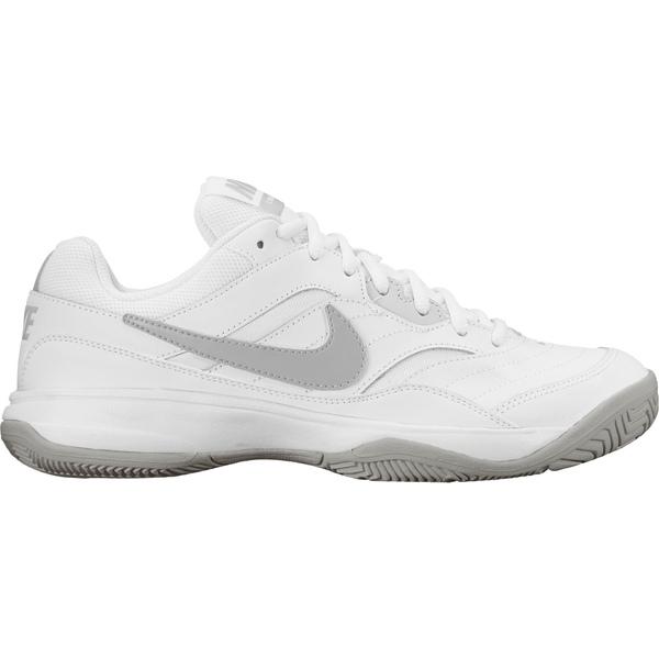 買取 Nike レディース スポーツ テニス White Silver 全商品無料サイズ交換 Shoes Court Women's ナイキ Lite 送料無料カード決済可能 Tennis