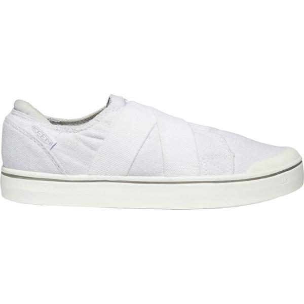 キーン レディース スニーカー シューズ KEEN Women's Elsa IV Gore Slip-On Shoes White/White