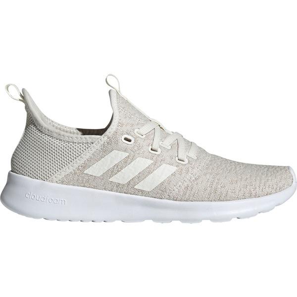 アディダス レディース スニーカー シューズ adidas Women's Cloudfoam Pure Shoes Tan/White