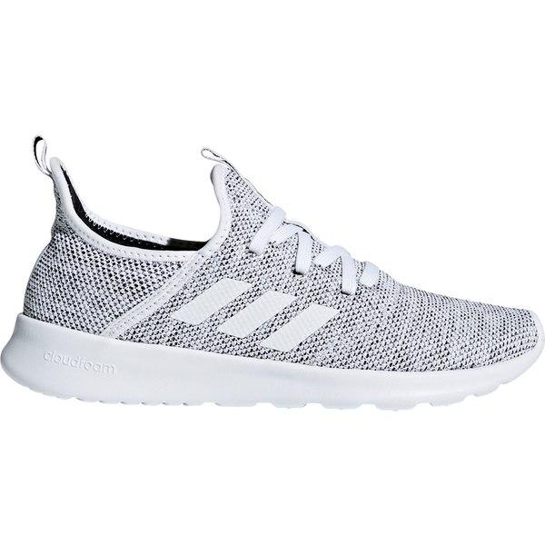 adidas レディース シューズ スニーカー 定番キャンバス White Black Cloudfoam Shoes Women's Pure 全商品無料サイズ交換 アディダス 直輸入品激安