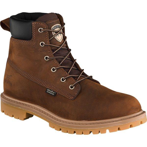 アイリッシュ・セッター メンズ ブーツ&レインブーツ シューズ Irish Setter Men's Hopkins 6'' Waterproof Soft Toe Work Boots Brown
