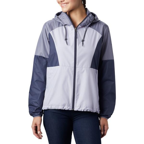 コロンビア レディース ジャケット&ブルゾン アウター Columbia Women's Side Hill Windbreaker Jacket NewMoon/Nocturnal/Twlght