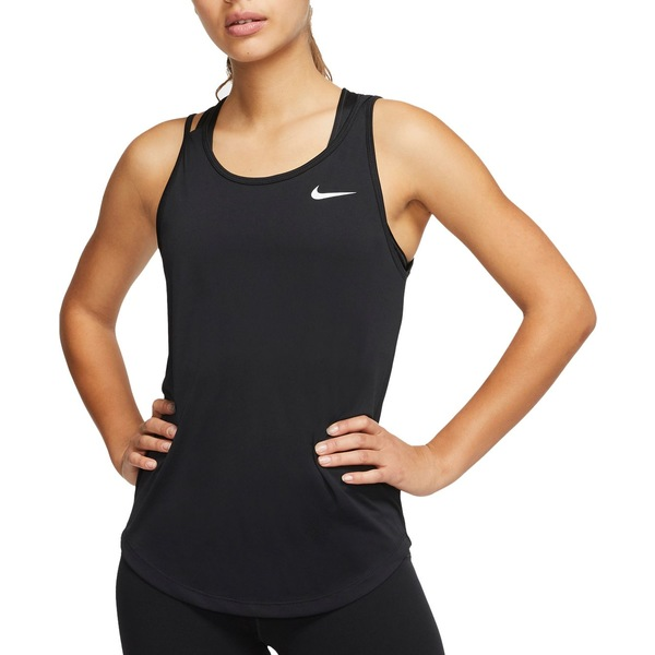 ナイキ レディース シャツ トップス Nike Women's Performance Running Tank Top Black
