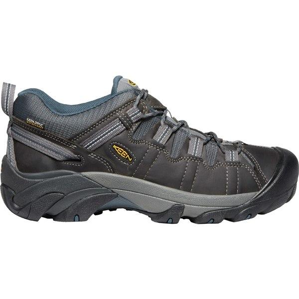 キーン メンズ ブーツ&レインブーツ シューズ KEEN Men's Targhee II Waterproof Hiking Shoes Gargoyle