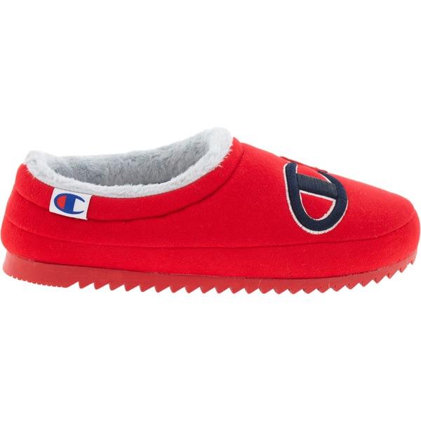 チャンピオン レディース スニーカー シューズ Champion Women's Shuffle Slippers Red/Red