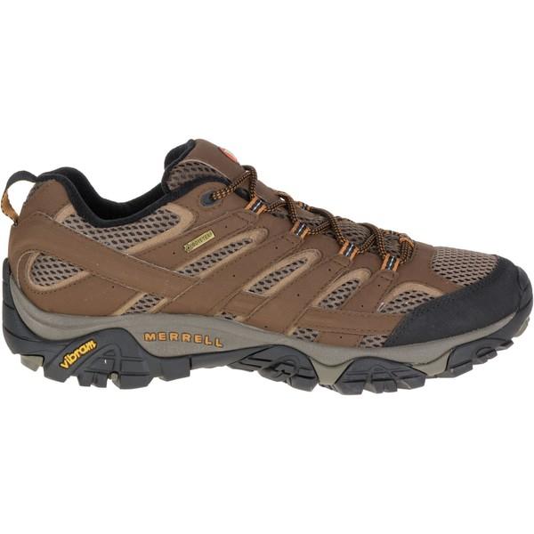 メレル メンズ ブーツ&レインブーツ シューズ Merrell Men's Moab 2 GTX Hiking Shoes Earth