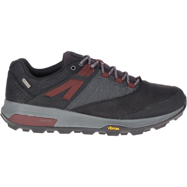 メレル メンズ ブーツ&レインブーツ シューズ Merrell Men's Zion Waterproof Hiking Shoes Black