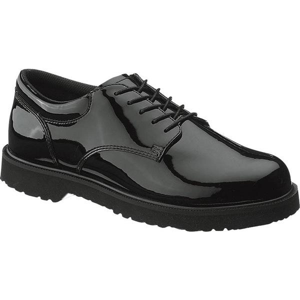 ベイツ レディース ブーツ&レインブーツ シューズ Bates Women's High Gloss Duty Oxford Shoes Black