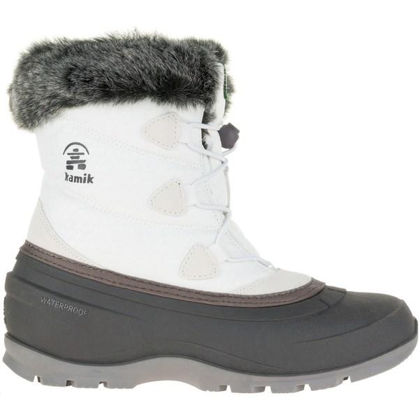 カミック レディース ブーツ&レインブーツ シューズ Kamik Women's MomentumLo 200g Waterproof Winter Boots White
