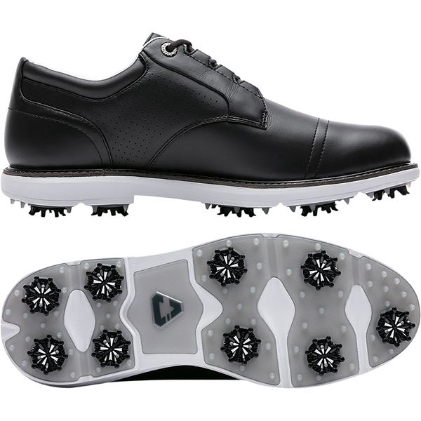 トラビスマヒュー メンズ ゴルフ スポーツ Cuater by TravisMathew Men's The Legend Golf Shoes Black