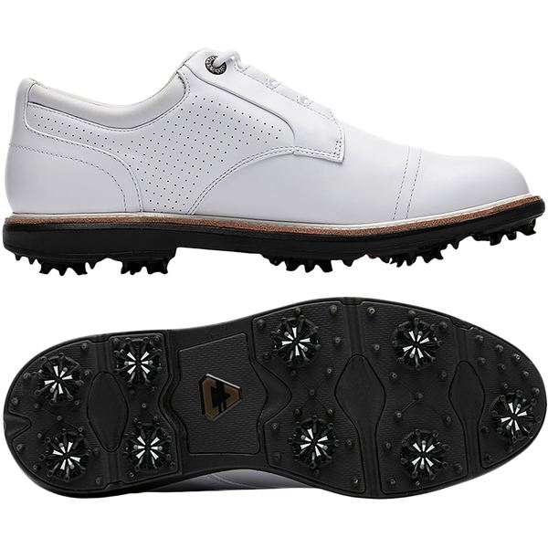 トラビスマヒュー メンズ ゴルフ スポーツ Cuater by TravisMathew Men's The Legend Golf Shoes White