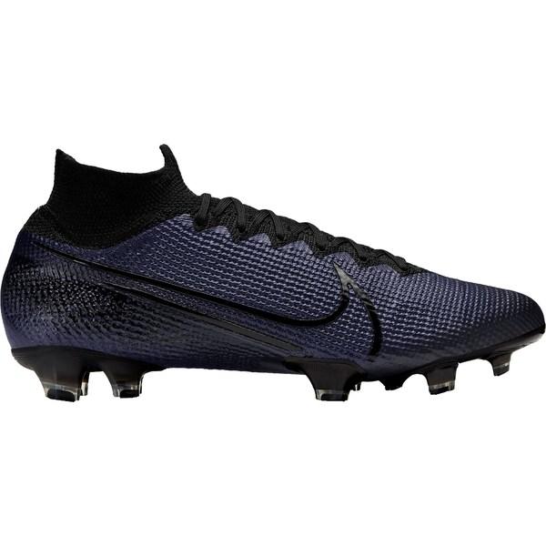 ナイキ メンズ サッカー スポーツ Nike Mercurial Superfly 7 Elite FG Soccer Cleats Black/Black