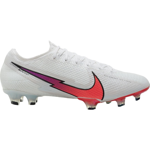 ナイキ メンズ サッカー スポーツ Nike Mercurial Vapor 13 Elite FG Soccer Cleats White/Red