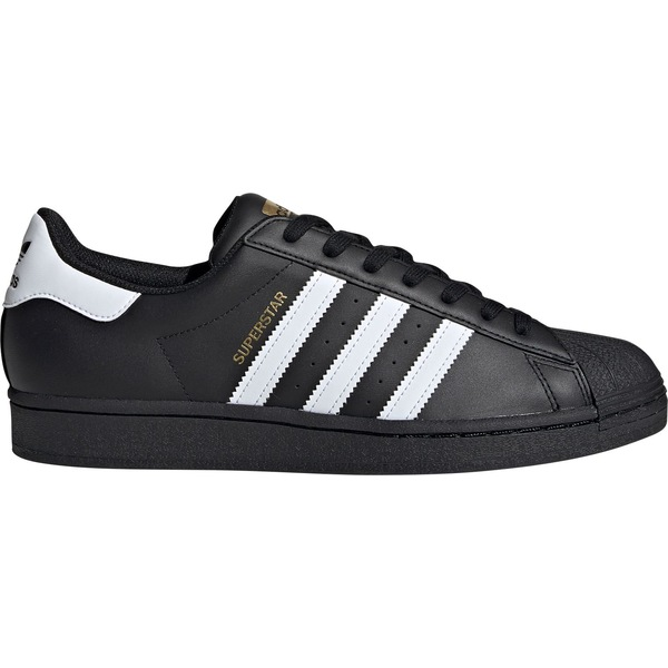アディダス メンズ スニーカー シューズ adidas Originals Men's Superstar Shoes Black/White