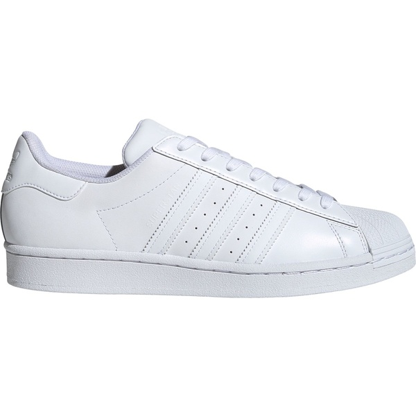 アディダス メンズ スニーカー シューズ adidas Originals Men's Superstar Shoes White/White/White