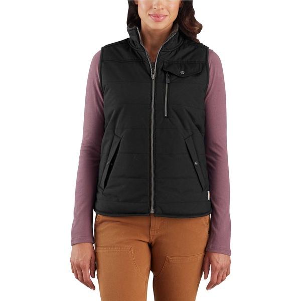 カーハート レディース ジャケット&ブルゾン アウター Carhartt Women's Utility Sherpa-lined Vest Black