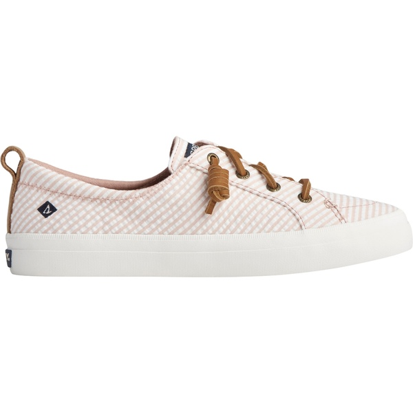 トップサイダー レディース スニーカー シューズ Sperry Women's Crest Vibe Seersucker Casual Shoes Rose/White