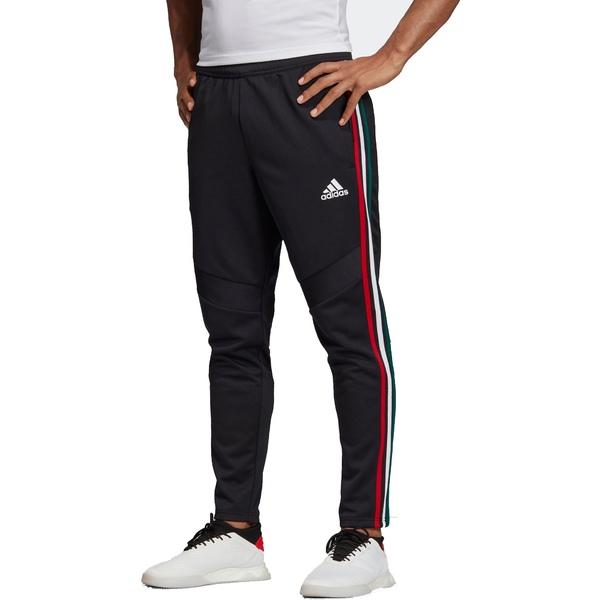 アディダス メンズ カジュアルパンツ ボトムス adidas Men's Tiro 19 Ombre Stripes Training Pants Bk/PowerRed/Wt/CollegGr