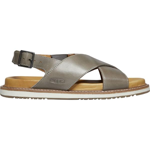 キーン レディース サンダル シューズ KEEN Women's Lana Cross Strap Sandals Drizzle
