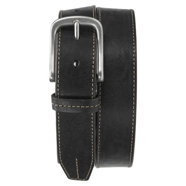トラスク メンズ ベルト アクセサリー Trask Leather Belt Black